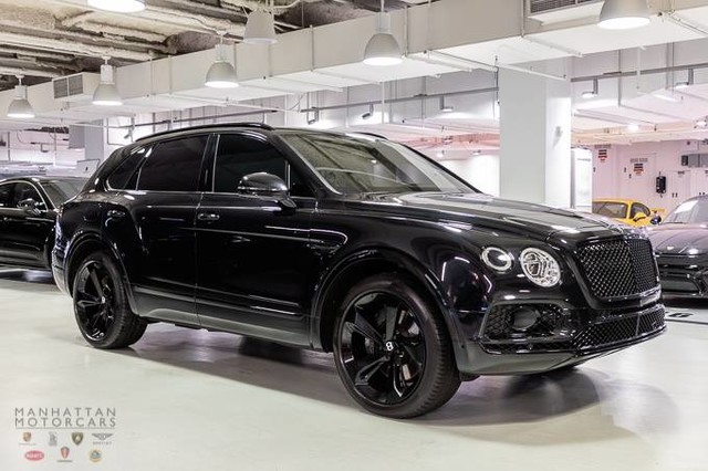 Pre Owned 2017 Bentley Bentayga W12 Suv In New York Po1962