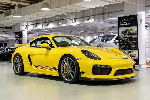 certified pre-owned 2016 porsche cayman gt4 coupe in new york