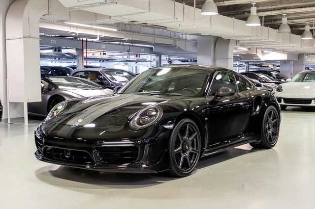 Pre-Owned 2018 Porsche 911 Turbo S Exclusive Series