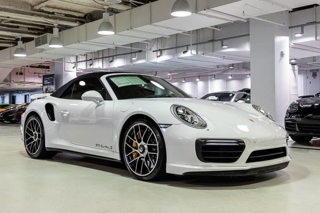 Certified Pre Owned 2018 Porsche 911 Turbo S