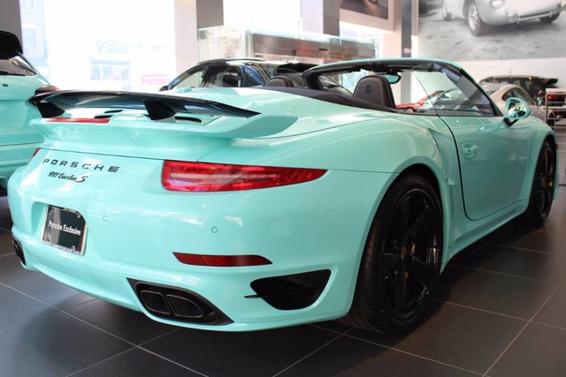 New 2016 Porsche 911 Turbo S Cabriolet Exclusive Edition