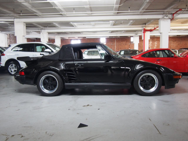 Pre-Owned 1989 Porsche 911 Turbo Cabriolet SLANT NOSE