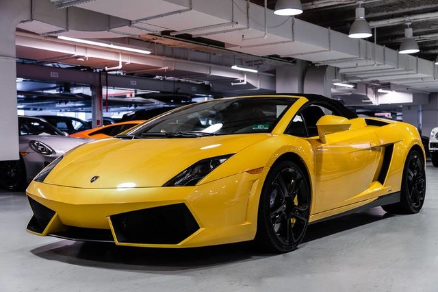 Charming Pre Owned 2012 Lamborghini Gallardo Spyder
