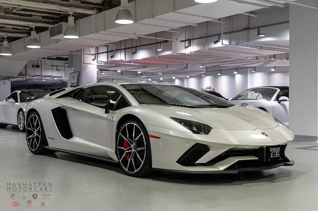 Pre Owned 2017 Lamborghini Aventador S Coupe In New York Po2162