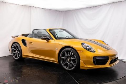 Pre-Owned 2019 Porsche 911 Turbo S
